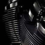 Harley Davidson Milwaukee-Eight 107 Engine Fin Details
