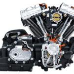 Harley Davidson Milwaukee-Eight 107 Engine Powertrain Cutaway