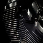 Harley Davidson Milwaukee-Eight 107 Engine Fin Details