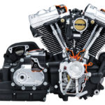 Harley Davidson Milwaukee-Eight 107 Engine Powertrain Cutaway